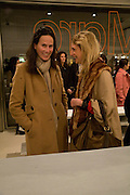 CRISTINA COLOMAR AND SERENA CATTANEO, Exhibition of work by Marc Newson at the Gagosian Gallery, Davies st. London. afterwards at Mr. Chow, Knightsbridge. 5 March 2008.  *** Local Caption *** -DO NOT ARCHIVE-© Copyright Photograph by Dafydd Jones. 248 Clapham Rd. London SW9 0PZ. Tel 0207 820 0771. www.dafjones.com.