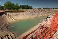 Bayou Bridge Pipeline being installed in Rayne Louisiana.