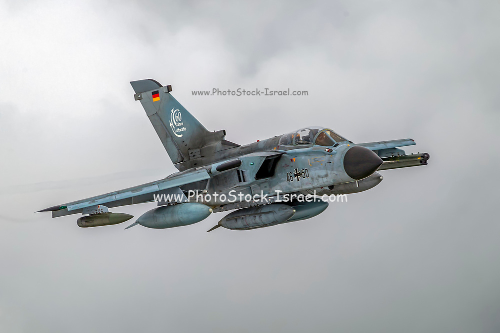 German Air Force, Panavia Tornado in flight Photographed at Royal International Air Tattoo (RIAT)