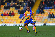 Mansfield Town forward Matt Green during the Sky Bet League 2 match between Mansfield Town and Northampton Town at the One Call Stadium, Mansfield, England on 28 March 2016. Photo by Jon Hobley.