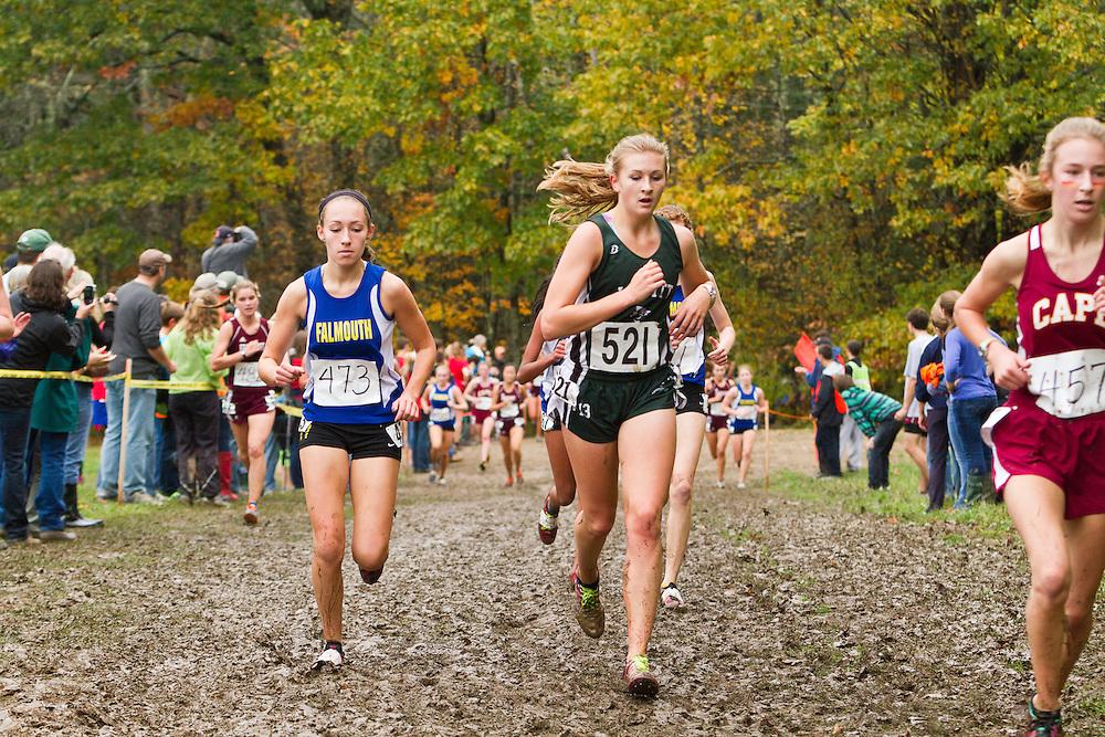 2012 High School Western Maine Regional Cross Country Championships, Class B Girls