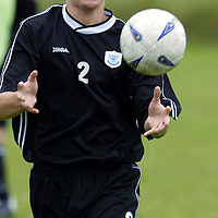 St Johnstone training...12.07.04<br />Ross Forsyth<br /><br />Picture by Graeme Hart.<br />Copyright Perthshire Picture Agency<br />Tel: 01738 623350  Mobile: 07990 594431