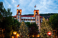 Hotel Colorado, Glenwood Springs, Colorado USA