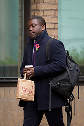 © Licensed to London News Pictures. 31/10/2012. LONDON, UK. Former UBS banker Kweku Adoboli arrives at Southwark Crown Court in London today (31/10/12). Photo credit: Matt Cetti-Roberts/LNP