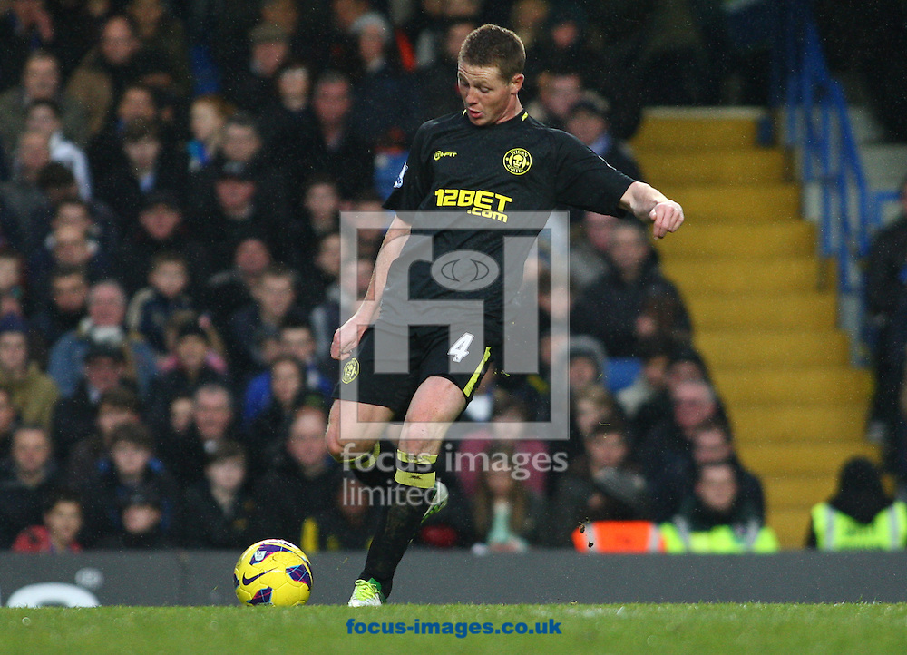 Picture by Rob Fisher/Focus Images Ltd +44 7545 398891.09/02/2013.James McCarthy of Wigan Athletic during the Barclays Premier League match at Stamford Bridge, London.