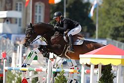 Kayser, Julia (AUT) Sterrehof´s Cayetano Z<br /> Münster - Turnier der Sieger 2016<br /> © www.sportfotos-lafrentz.de