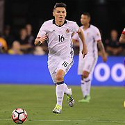 EAST RUTHERFORD, NEW JERSEY - JUNE 17:  Daniel Torres #16 of Colombia in action during the Colombia Vs Peru Quarterfinal match of the Copa America Centenario USA 2016 Tournament at MetLife Stadium on June 17, 2016 in East Rutherford, New Jersey. (Photo by Tim Clayton/Corbis via Getty Images)