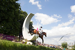 Thomsen Peter (GER) - Horseware's Barny<br /> Olympic Games London 2012<br /> © Dirk Caremans