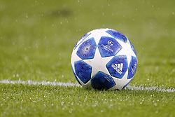 Adidas UEFA Champions League ball during the UEFA Champions League play offs round second leg match between PSV Eindhoven and BATE Borisov at the Philips stadium on August 29, 2018 in Eindhoven, The Netherlands