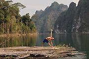 Thailand, Khao Sok, yoga retreat in the rain forest