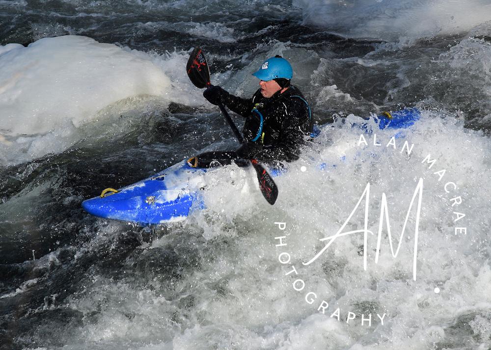 2017 Winni River New Year's kayak run.