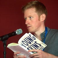 Colin Barrett at Edinburgh International Book Festival 2014 <br />