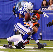 Cincinnati Bengals take on the Indianapolis Colts - Indianapolis