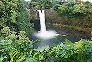 Rainbow Falls located in Hilo, Hawaii.