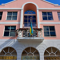 Bay Street Shopping in Nassau, Bahamas<br />