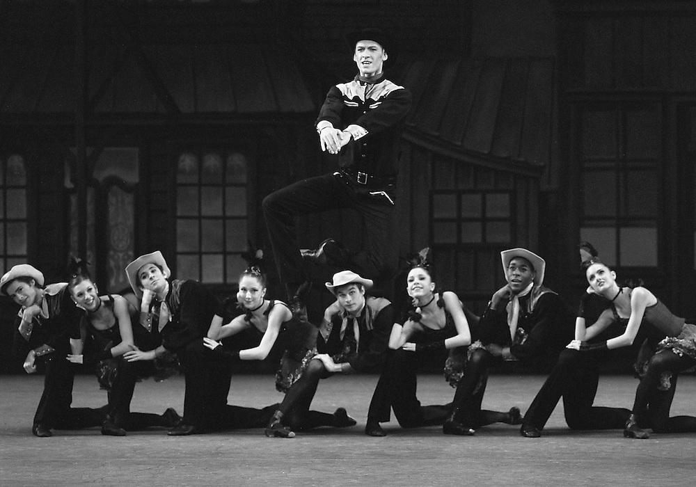 Western Symphony.Igor Zelensky.Credit Photo ©Paul Kolnik.New York City Ballet.Choreography by George Balanchine.