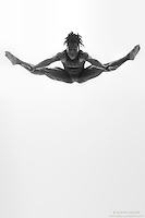 Black and white dance photography-Dance As Art Studio Series with Kevin Mimms