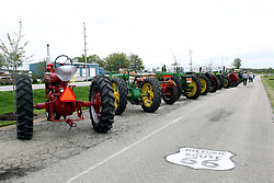 04 May 2013:   Arranged to coincide and be a part of the Red Corridor Route 66 festival, the village of Lexington hosts an antique tractor show.  Roger Whaley is the chairman of the organizing committee.