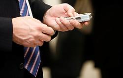 PRISTINA, KOSOVO - DECEMBER 14 - Mobilni telefon deluje na omrezju IPKO.