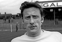 Tommy Brannigan, footballer, Distillery FC, Belfast, N Ireland, April, 1971, 197104000245<br /> <br /> Copyright Image from Victor Patterson, 54 Dorchester Park, Belfast, UK, BT9 6RJ<br /> <br /> t1: +44 28 9066 1296<br /> t2: +44 28 9002 2446<br /> m: +44 7802 353836<br /> e: victorpatterson@me.com<br /> <br /> www.victorpatterson.com<br /> <br /> IMPORTANT: Please see my Terms and Conditions of Use at www.victorpatterson.com