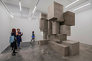 Block 2015 - Antony Gormley,  Fit, a new exhibition of work in the South Galleries of White Cube Bermondsey. The piece is divided into 15 discrete chambers to create a series of dramatic physiological encounters in the form of a labyrinth.