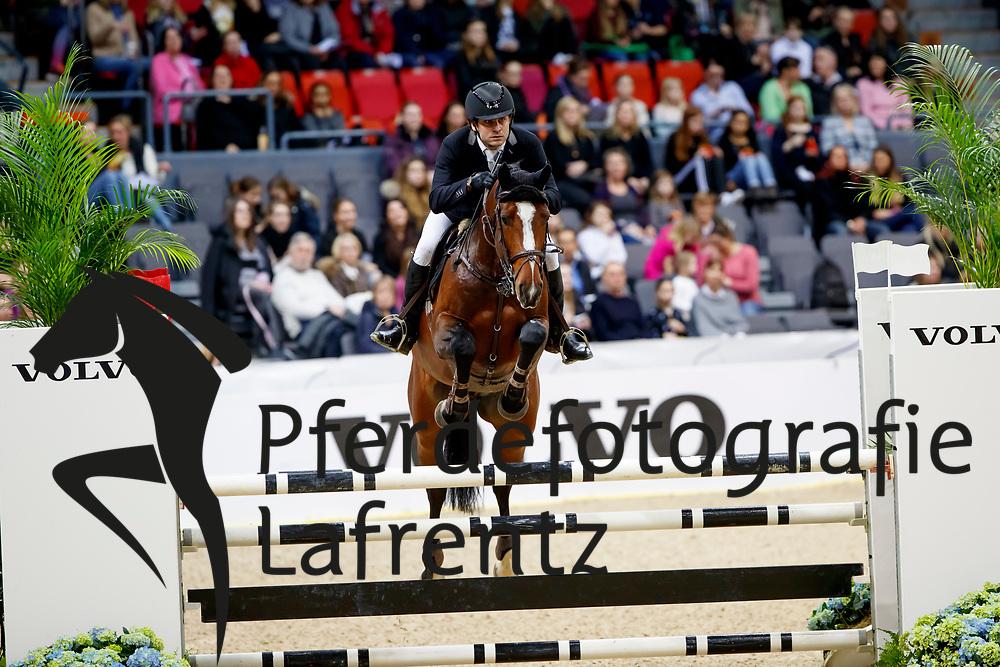 Svensson, Daniel (SWE) Prince Nandor<br /> Göteborg - Gothenburg Horse Show FEI World Cups 2017<br /> © Stefan Lafrentz