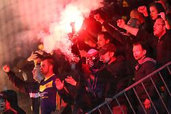 Viole, fans of Maribor during football match between NK Olimpija and NK Maribor in Round #31 of Prva liga Telekom Slovenije 2016/17, on April 29, 2017 in SRC Stozice, Ljubljana, Slovenia. Photo by Matic Klansek Velej / Sportida