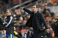 Gary Neville head coach of Valencia during the Copa Del Rey match at Mestalla, Valencia<br /> Picture by Maria Jose Segovia/Focus Images Ltd +34 660052291<br /> 10/02/2016
