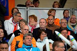 03-06-2012 VOLLEYBAL: EK BEACHVOLLEYBAL FINAL: SCHEVENINGEN<br /> Riet Ooms en Andre Meyer<br /> &copy;2012-FotoHoogendoorn.nl