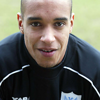 St Johnstone Training..26.02.02   <br />New St Johnstone signing Ludovic Roy <br /><br />see story by Gordon Bannerman Tel:01738 553978<br /><br />Picture by Graeme Hart.<br />Copyright Perthshire Picture Agency<br />Tel: 01738 623350  Mobile: 07990 594431