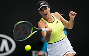 Sorana Cirstea of Romania in action during her first round match at the 2020 Australian Open, WTA Grand Slam tennis tournament on January 20, 2020 at Melbourne Park in Melbourne, Australia - Photo Rob Prange / Spain ProSportsImages / DPPI / ProSportsImages / DPPI