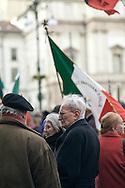 Milano, 40esimo anniversario della strage di Piazza Fontana, 12 dicembre 2009. Manifestazione istituzionale.