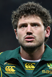 Ryan Kankowski lines up before the international match between France and South Africa at Stade Municipal on November 13, 2009 in Toulouse, France.
