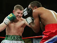 November 4, 2005 - James Moore vs Manjie Conteh - Hammerstein Ballroom, NY, NY