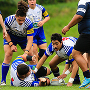 Action during the rugby union Les Mills Paris Memorial under-21 game played between Northern United and Avalon, at Jerry Collins Stadium, Porirua, Wellington , New Zealand on 5 May 2018. Norths won 36-19.