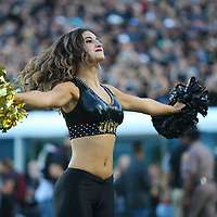 ORLANDO, FL - SEPTEMBER 21:  A UCF dancer performs during a game between the Florida Atlantic Owls and the UCF Knights at Spectrum Stadium on September 21, 2018 in Orlando, Florida. (Photo by Alex Menendez/Getty Images) *** Local Caption ***