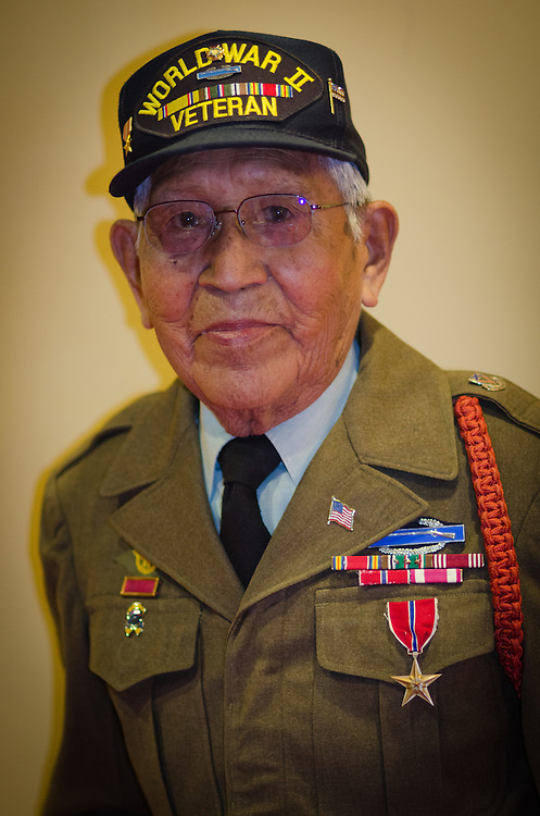 United States Army Veteran Tom Dailey served in World War II and continues to play an active role in veterans affairs. Dailey also served as a former Governor for the Pueblo of Laguna (1954-1955,1967-1971).