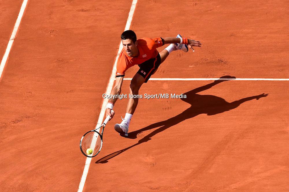 Novak DJOKOVIC - 03.06.2015 - Jour 9 - Roland Garros 2015<br />Photo : David Winter / Icon Sport