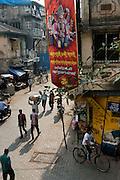 Ganesh overlooking a street