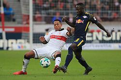 20180311, VfB Stuttgart vs RB Leipzig, Mercedes Benz Arena Fussball, Sport, im Bild:...Dennis Aogo (VFB Stuttgart) vs Naby Keita (RB Leipzig)..*Copyright by:  Philippe Ruiz..Postbank Muenchen.IBAN: DE91 7001 0080 0622 5428 08..Oberbrunner Strasse 2.81475 MŸnchen, .Tel: 089 745 82 22, .Mobil: 0177 29 39 408..( MAIL:  philippe_ruiz@gmx.de ) ..Homepage: www.sportpressefoto-ruiz.de. (Credit Image: © Philippe Ruiz/Xinhua via ZUMA Wire)