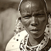 &ldquo;Masai Woman&rdquo;                                                 Tanzania<br />