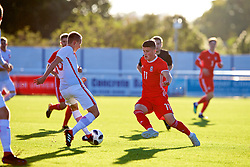 BANGOR, WALES - Monday, October 15, 2018: Wales' Jack Vale during the UEFA Under-19 International Friendly match between Wales and Poland at the VSM Bangor Stadium. (Pic by Paul Greenwood/Propaganda)