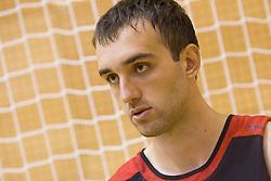 Mirza Begic during practice session of Slovenian National Basketball team during training camp for Eurobasket Lithuania 2011, on July 12, 2011, in Arena Vitranc, Kranjska Gora, Slovenia. (Photo by Vid Ponikvar / Sportida)