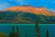 Tutshi Lake. Coast Mountains. South Klondike Highway<br />