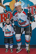 KELOWNA, CANADA - MARCH 07:  Pepsi Player of the game with Calvin Thurkauf #27 of the Kelowna Rockets at the Kelowna Rockets game on March 07, 2017 at Prospera Place in Kelowna, British Columbia, Canada.  (Photo By Cindy Rogers/Nyasa Photography,  *** Local Caption ***