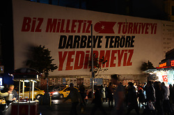 April 30, 2017 - Istanbul, Turkey - Turkish police took a preventive measure about the 1 May demonstration near the Taksim square in Istanbul, the measures are on the ocassion of the government ban at May Day protests near Taksim, Istanbul on April 30, 2017  (Credit Image: © Hristo Rusev/NurPhoto via ZUMA Press)