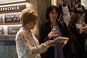 RACHEL KELLY; JENNY RUSSELLLaunch of The Happy Kitchen: Good Mood Food, by Rachel Kelly and Alice Mackintosh. Squirrel, South Kensington. London. 31 January 2017