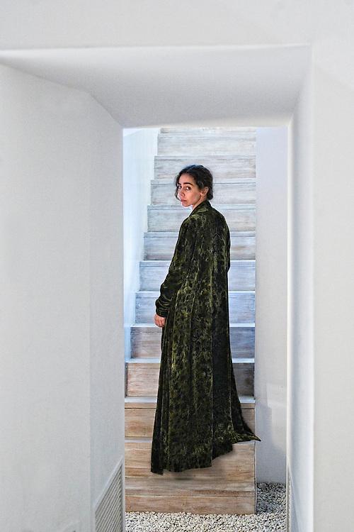 Barcelona,Catalunya,Spain<br /> Rosa Esteva,dressmaker.<br /> &copy;Carmen Secanella
