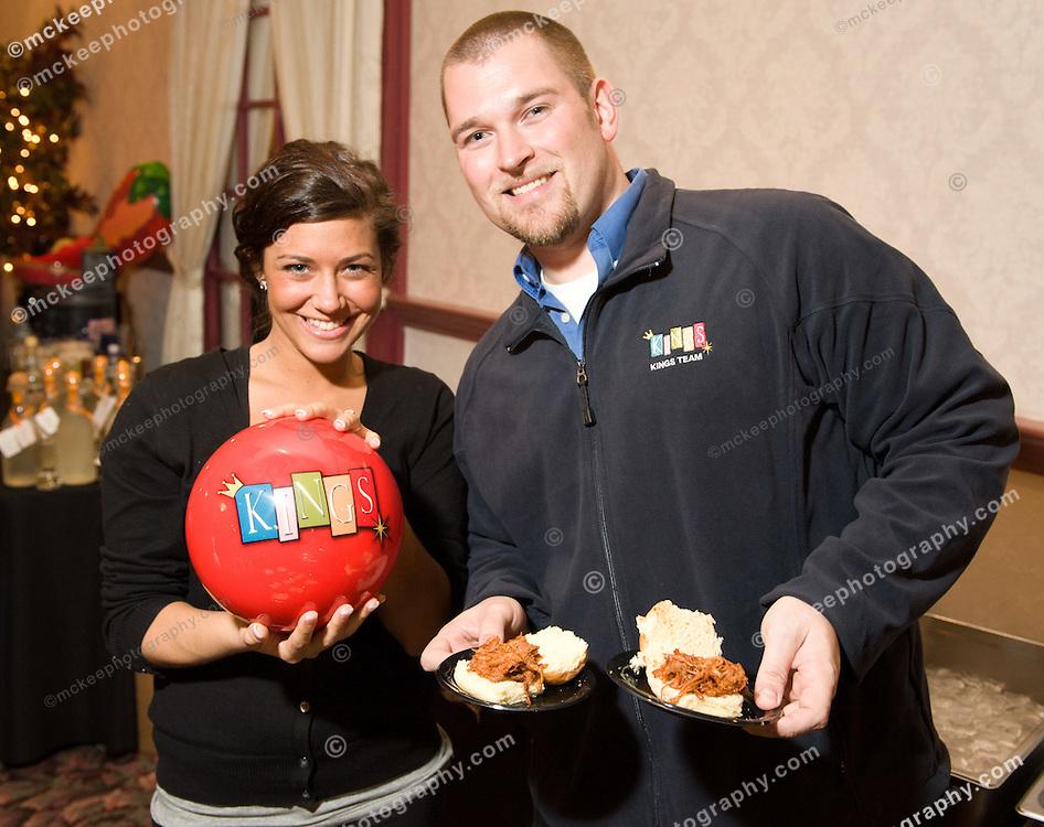 Kings's of Dedham, Doug Warner and Nicole Desisto at Flavors of Neponset Valley 2011