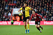 Adam Masina (11) of Watford on the attack during the Premier League match between Bournemouth and Watford at the Vitality Stadium, Bournemouth, England on 12 January 2020.